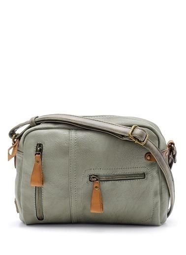 Derimod Messenger / Askılı Çanta Yeşil